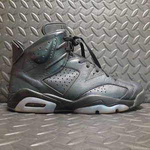 """Jordan 6 Retro """"All Star Chameleon"""" used size 8.5"""